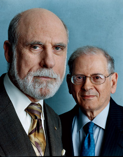 vint cerf bob kahn Who invented the Internet