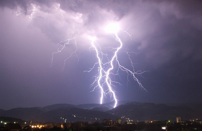 lightning storm Who invented Electricity