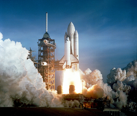 space shuttle launch Who invented the Space Shuttle