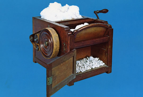 the effects of eli whitney on A mandela effect, by definition, must affect a large group of people  eli whitney patented the cotton gin in 1793 suddenly we could turn a profit on this .