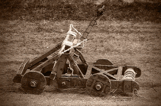 Medieval Catapult Who Invented Catapults