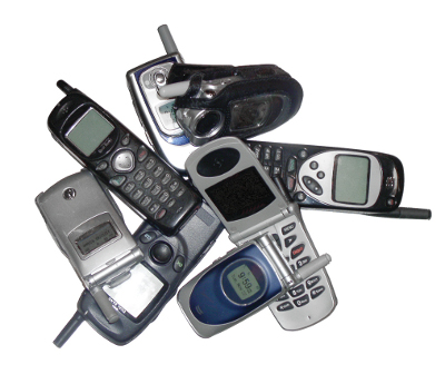 Various Cell Phone Models